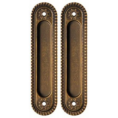 Ручка для раздвижных дверей Armadillo SH010/CL OB-13 Античная бронза
