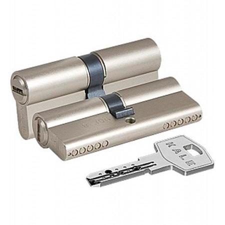 Цилиндр (личинка для замка) Kale-Kilit 164 BN 75 (35*40) никель ключ-ключ
