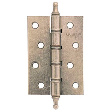 Петля дверная универсальная ADDEN BAU 100X70X2.5 4W AGED SILVER