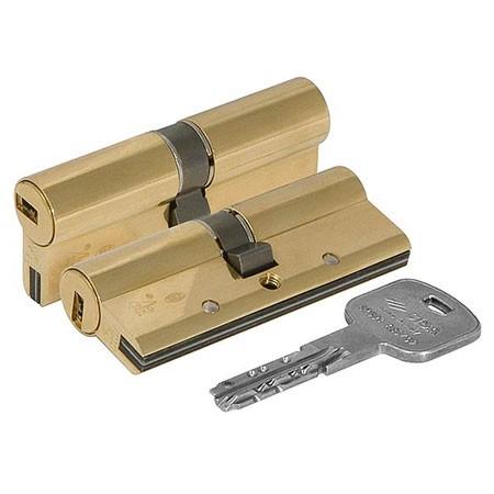 Цилиндр (личинка для замка) CISA AP3 OH3S1-07-0-66 (60мм 30*30) ключ ключ