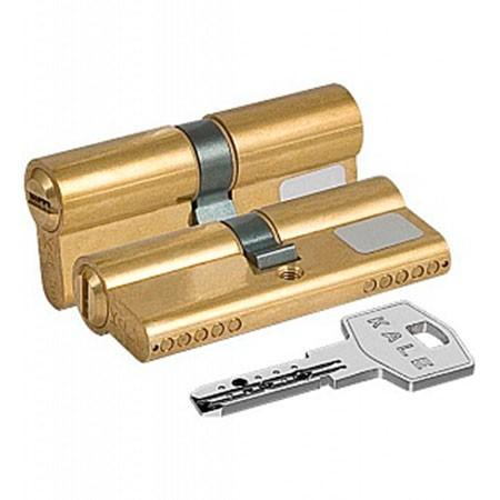 Цилиндр (личинка для замка) Kale-Kilit 164 BN 85 (40*45) латунь ключ-ключ