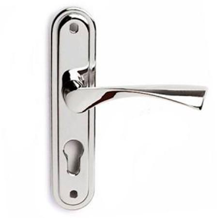 Дверная ручка на планке Apecs HP-55.0623-CR