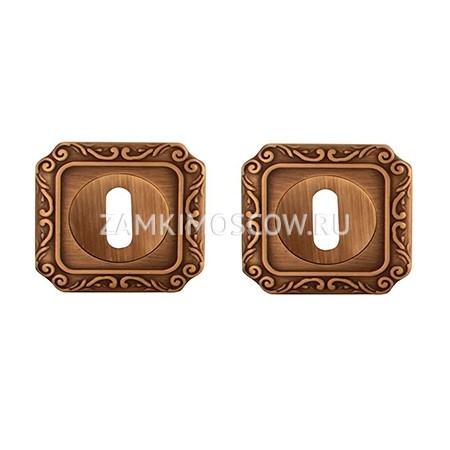 Накладка под ключ MELODIA (Италия) 50Q матовая бронза