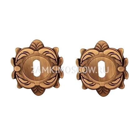 Накладка под ключ MELODIA (Италия) 50Z матовая бронза