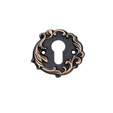 Накладка на цилиндр ADC FURNITURE CL Imperia-Florencia ant.bronze