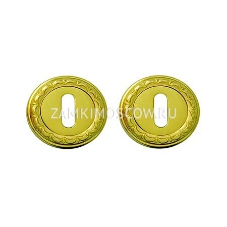 Накладка под ключ MELODIA (Италия) 50D полированная латунь