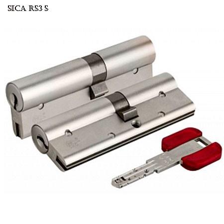 Цилиндр (личинка для замка) CISA RS3 S OL3S1.21.0.12.С5 (90мм 40*50 ключ ключ) никель