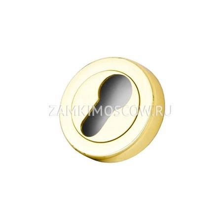 Накладка на цилиндр PASINI OLV полированное золото