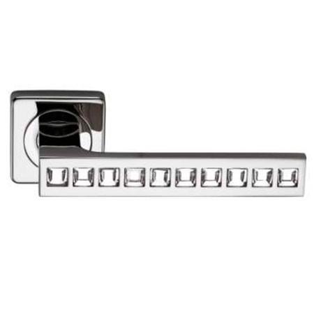Дверные ручки ARCHIE SILLUR-C-199 P.CHROME/CRYSTAL