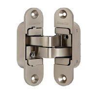 Петли дверные скрытой установки Armadillo Architect 3D-ACH 40 SN (матовый никель,левая)