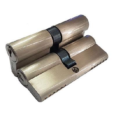 Цилиндровый механизм DAMX N80 SN 40*40(никель)