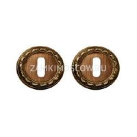 Накладка под ключ MELODIA (Италия) 50D матовая бронза