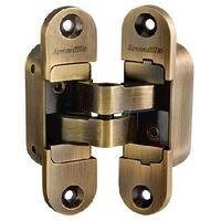 Петли дверные скрытой установки Armadillo Architect 3D-ACH 60 AB (бронза, правая)