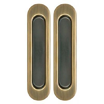 Комплект Дверных Ручек Для Раздвижных Дверей Armadillo SH010-WAB-11 Матовая Бронза