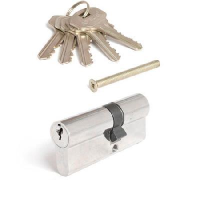 Цилиндр (личинка для замка) Apecs (Апекс) SC-60-Z-NI / 30*30