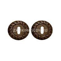 Накладка под ключ MELODIA (Италия) 60mm античная бронза
