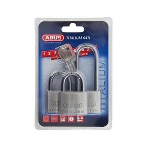 Навесные замки ABUS 727TI/40X2+40HB63 TRIPLES C/BLISTER
