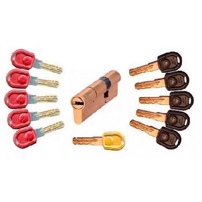 Механизм цилиндровый Master Lock 55*35 ключ/ключ.с перекодировкой антибампинг