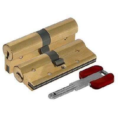 Цилиндр (личинка для замка) CISA RS3 S OL3S1.13.0.66.С5 (70мм/35*35 кл/кл) латунь