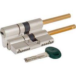 Цилиндровый механизм Mottura под вертушку (дл. шток) C48P313101 (62 мм/26+10+26), МАТ.НИКЕЛЬ