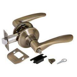 Ручка защелка Punto (Пунто) 6020 AB-B (фик.) бронза