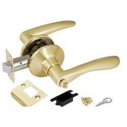Ручка защелка Punto (Пунто) 6020 SB-B (фик.) мат. золото