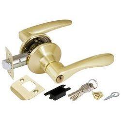 Ручка защелка Punto (Пунто) 6020 SB-E (кл./фик.) мат. золото