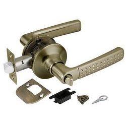 Ручка защелка Punto (Пунто) 6026 AB-B (фик.) бронза