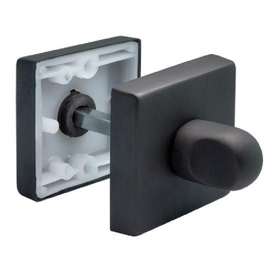 Фиксатор сантехнический Morelli Luxury LUX-WC-Q BLACK матовая черная бронза