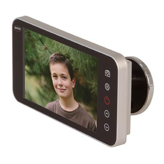 Видеоглазок Amig DWR 4.0 HD (серебро) 21377
