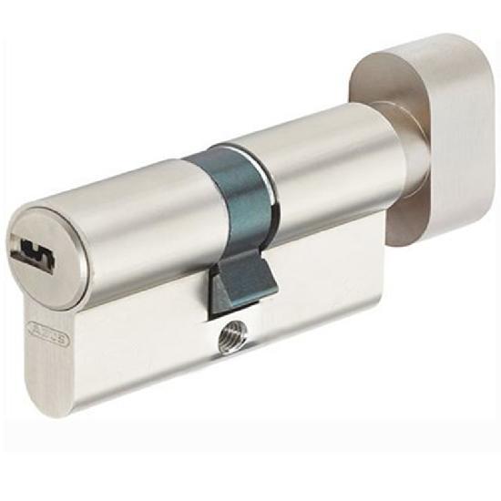 Механизм цилиндровый Abus KD6 55*55 SN ключ-вертушка