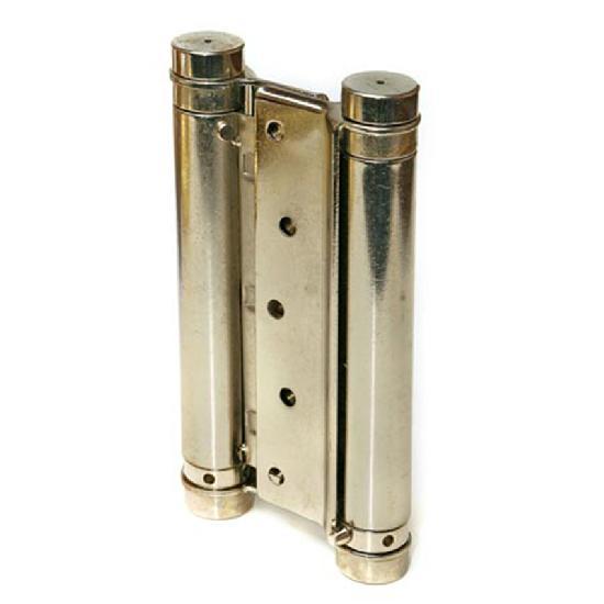 Петля пружинная двойная Amig 3037-125*126 (никель) 9819