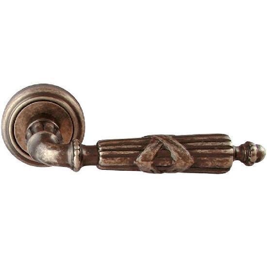 Дверные ручки Melodia mod.282-V античное серебро (ANS)