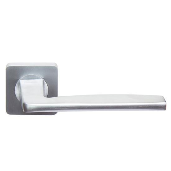 Дверные ручки ROSSI MIRRA LD 263-F21 матовый хром
