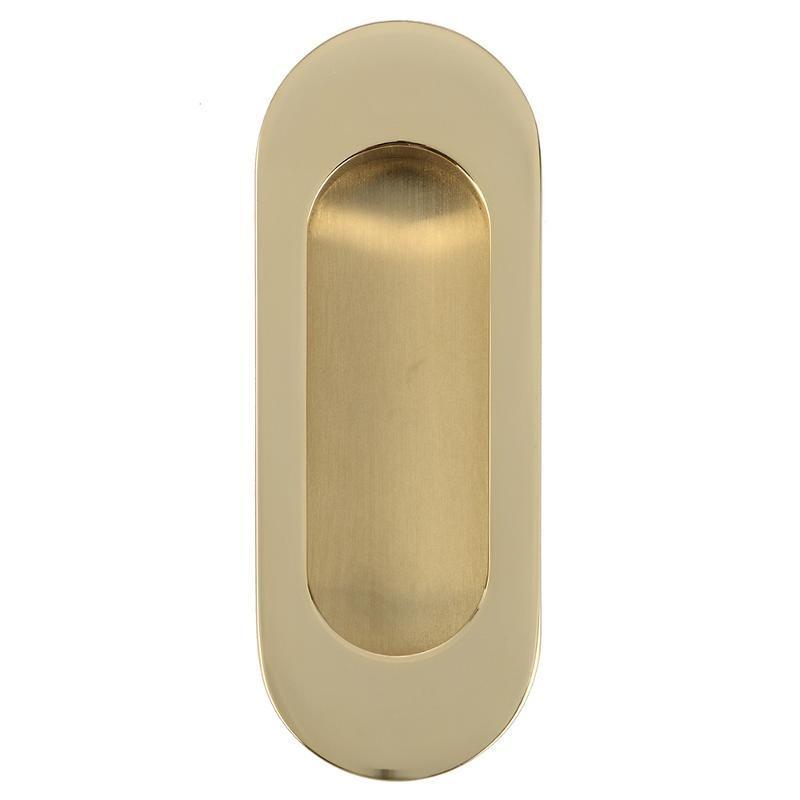 Ручка на раздвижную дверь ARCHIE K02-V0I (матовое золото)