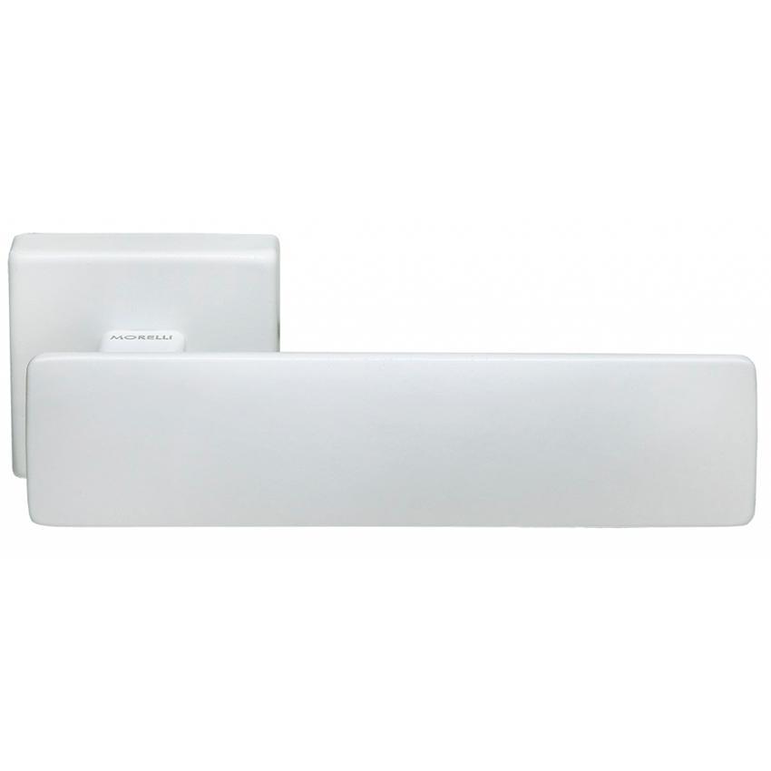 Дверные ручки MORELLI LUXURY SPACE белый
